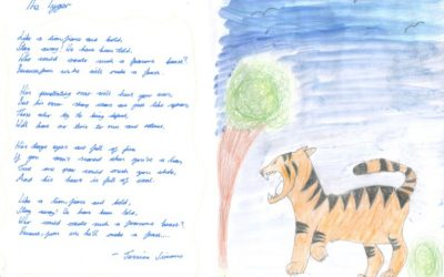 Learning in school – Tyger Tyger by William Blake