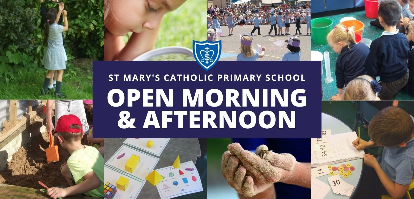 St Marys Catholic Primary School Opne Morning and Afternoon